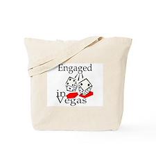 Engaged In Vegas Tote Bag