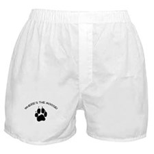 Where's the Moose! Boxer Shorts