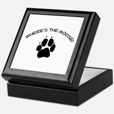 Where's the Moose! Keepsake Box