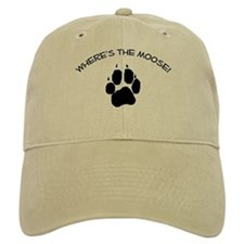 Where's the Moose! Baseball Cap