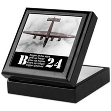 Don't look down on a B-24 Keepsake Box