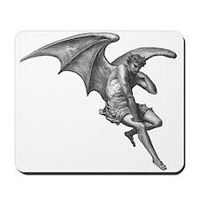 Satan Thinking Mousepad