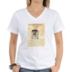 Deadwood Dick Women's V-Neck T-Shirt
