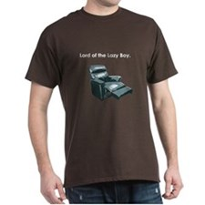 Lord of the Lazy Boy T-Shirt (brown)