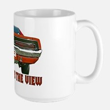 Get Used to the view-Charger- Large Mug