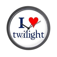 I love Twilight Wall Clock