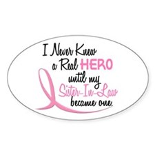 Never Knew A Hero 3 Sister-In-Law BC Decal