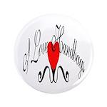 "I Love Handbags 3.5"" Button (100 pack)"