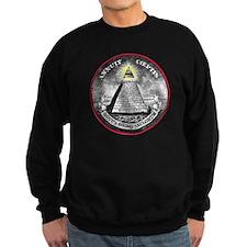 Funny All seeing eye pyramid Sweatshirt