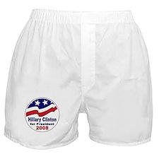 Hillary Clinton for President Boxer Shorts
