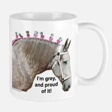 Proud to be Grey Percheron Mug