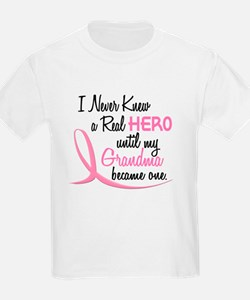 Never Knew A Hero 3 Grandma BC T-Shirt