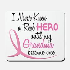 Never Knew A Hero 3 Grandma BC Mousepad