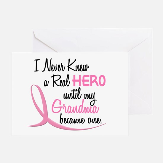 Never Knew A Hero 3 Grandma BC Greeting Card
