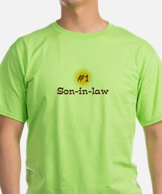 #1 Son-in-law T-Shirt