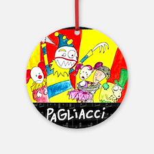 Pagliacci Ornament (Round)
