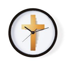 Cross Wall Clock