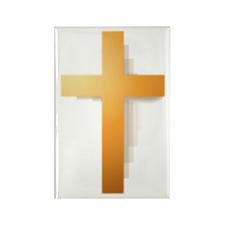 Cross Rectangle Magnet (10 pack)