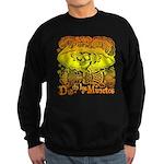 Funky Day Of The Dead / Sugar Sweatshirt (dark)