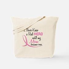 Never Knew A Hero 3 Mom BC Tote Bag