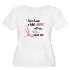 Never Knew A Hero 3 Mom BC T-Shirt