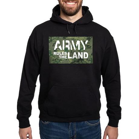 Army Rules Green Camo Hoodie (dark)