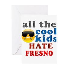 Cool Fresno Greeting Card