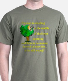 Is he still wrong? T-Shirt
