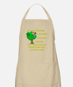 Is he still wrong? BBQ Apron