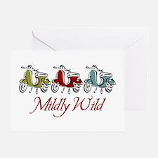 Mildly Wild Greeting Card