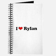 I Love Rylan Journal