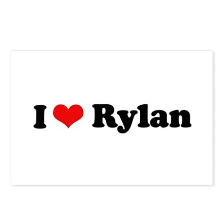 I Love Rylan Postcards (Package of 8)