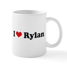 I Love Rylan Small Mug