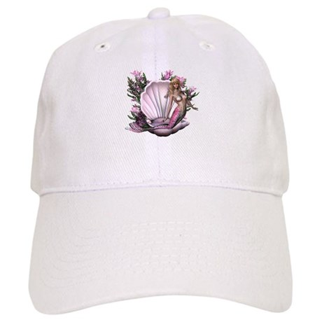 Pretty In Pink Mermaid Cap