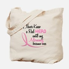 Never Knew A Hero 3 Mommy BC Tote Bag