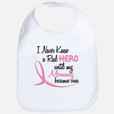 Never Knew A Hero 3 Mommy BC Bib