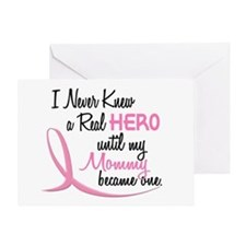 Never Knew A Hero 3 Mommy BC Greeting Card