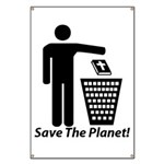 Save The Planet Banner