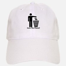 Save The Planet Baseball Baseball Cap