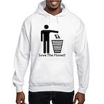 Save The Planet Hooded Sweatshirt