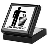 Save The Planet Keepsake Box
