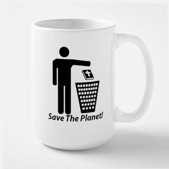 Save The Planet Large Mug