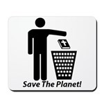 Save The Planet Mousepad