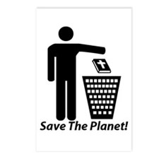 Save The Planet Postcards (Package of 8)