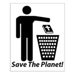 Save The Planet Small Poster