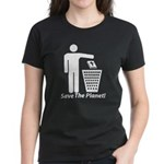 Save The Planet Women's Dark T-Shirt