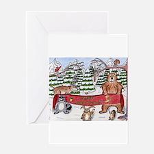 Christmas Winter Wonderland Greeting Card