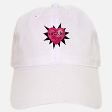 twilight be safe heart /blkst Baseball Baseball Cap