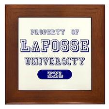 Property of LaFosse University Framed Tile