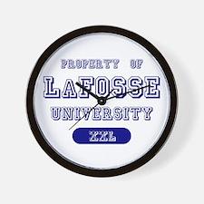 Property of LaFosse University Wall Clock